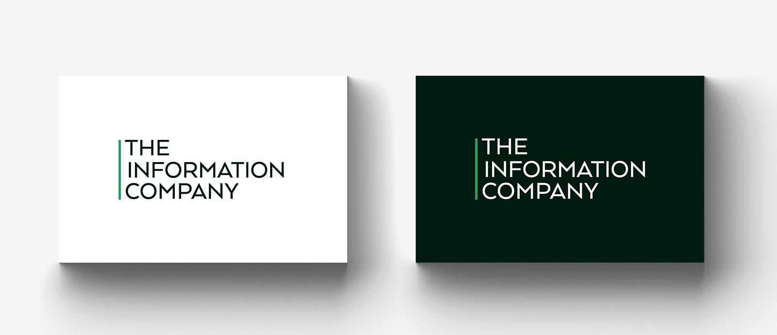 Ny logotypdesign The Information Company